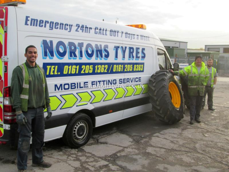 24 Hours Call Out Mobile Tyre Fitting Roadside Assistance